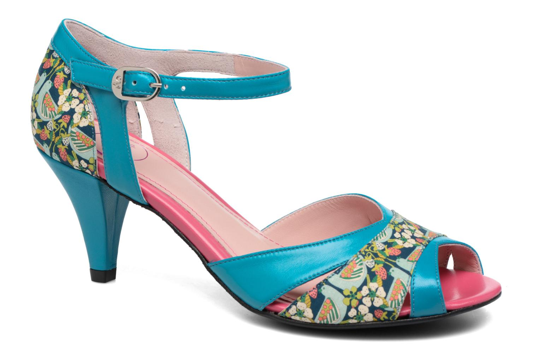 Sandales et nu-pieds Annabel Winship Piu-Piu Bleu vue détail/paire