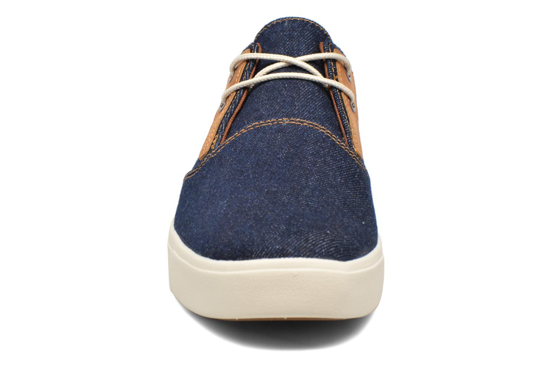 Baskets Timberland Amherst Canvas PTO Bleu vue portées chaussures