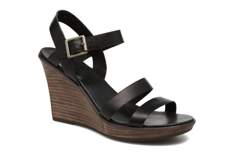 Cassanna Y-Strap Sandal Jet Black Swank