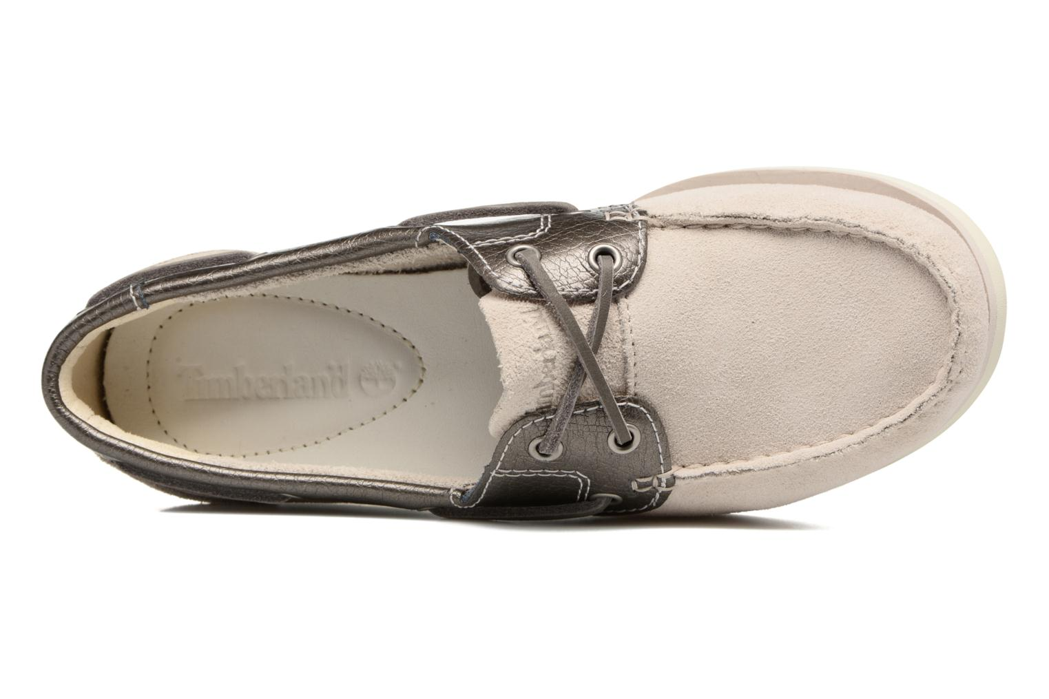 Chaussures à lacets Timberland Classic Boat Unlined Boat Gris vue gauche