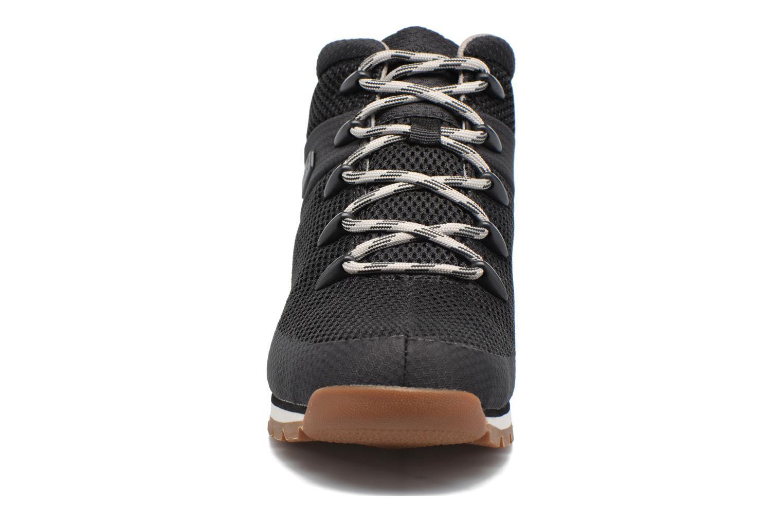 Chaussures à lacets Timberland Euro Sprint Fabric Noir vue portées chaussures