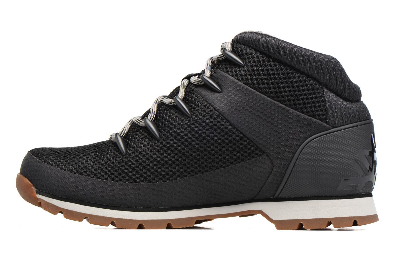 Chaussures à lacets Timberland Euro Sprint Fabric Noir vue face