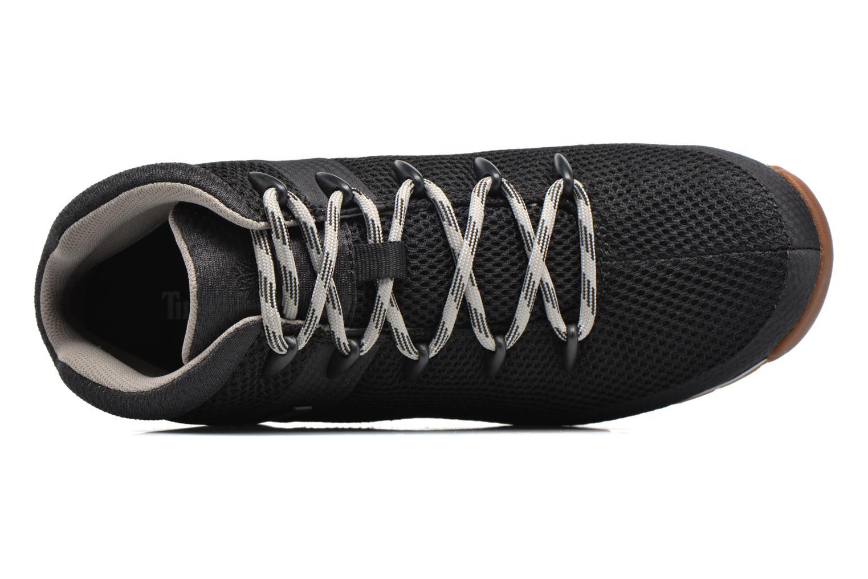 Chaussures à lacets Timberland Euro Sprint Fabric Noir vue gauche
