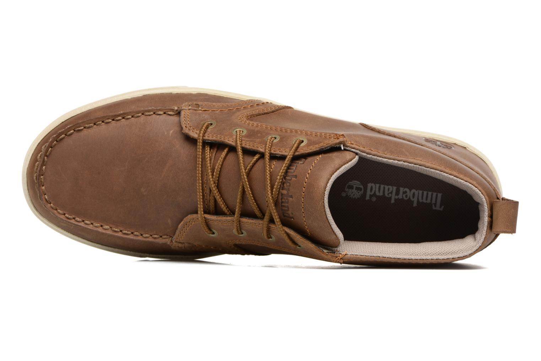 Chaussures à lacets Timberland Fulk LP Chukka MT Beige vue gauche