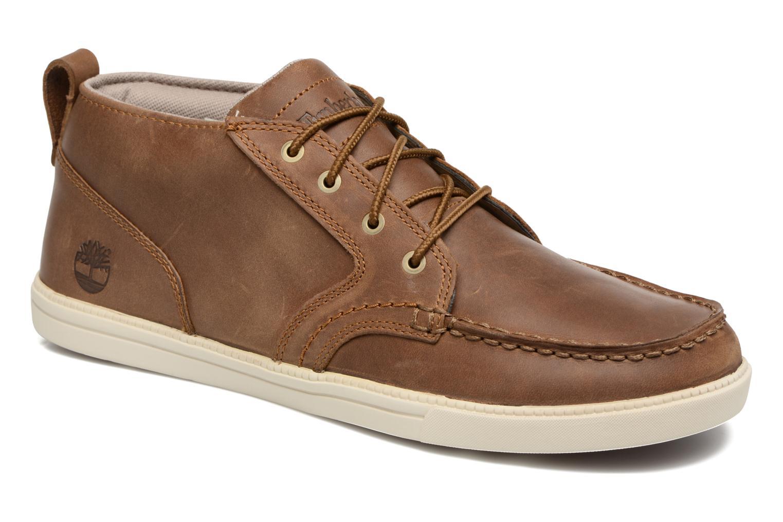 Chaussures à lacets Timberland Fulk LP Chukka MT Beige vue détail/paire