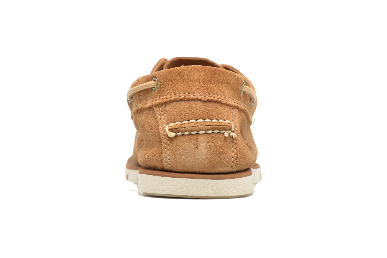 Chaussures à lacets Timberland Tidelands 2 Eye Marron vue droite