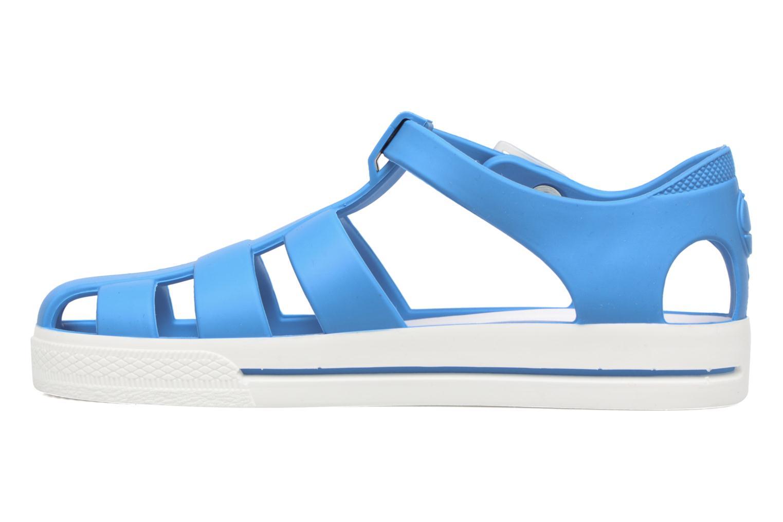 Romy bleu turquoise/blanc