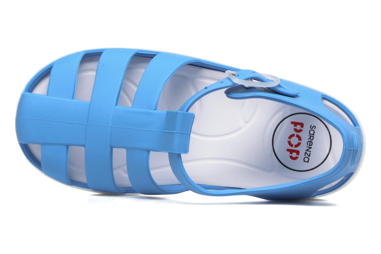 Sandalias SARENZA POP Romy Azul vista lateral izquierda
