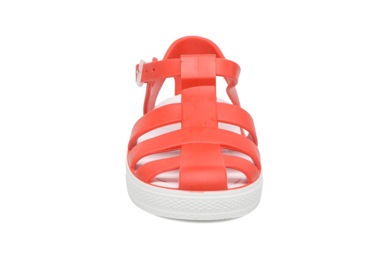 Sandali e scarpe aperte SARENZA POP Romy Rosso modello indossato