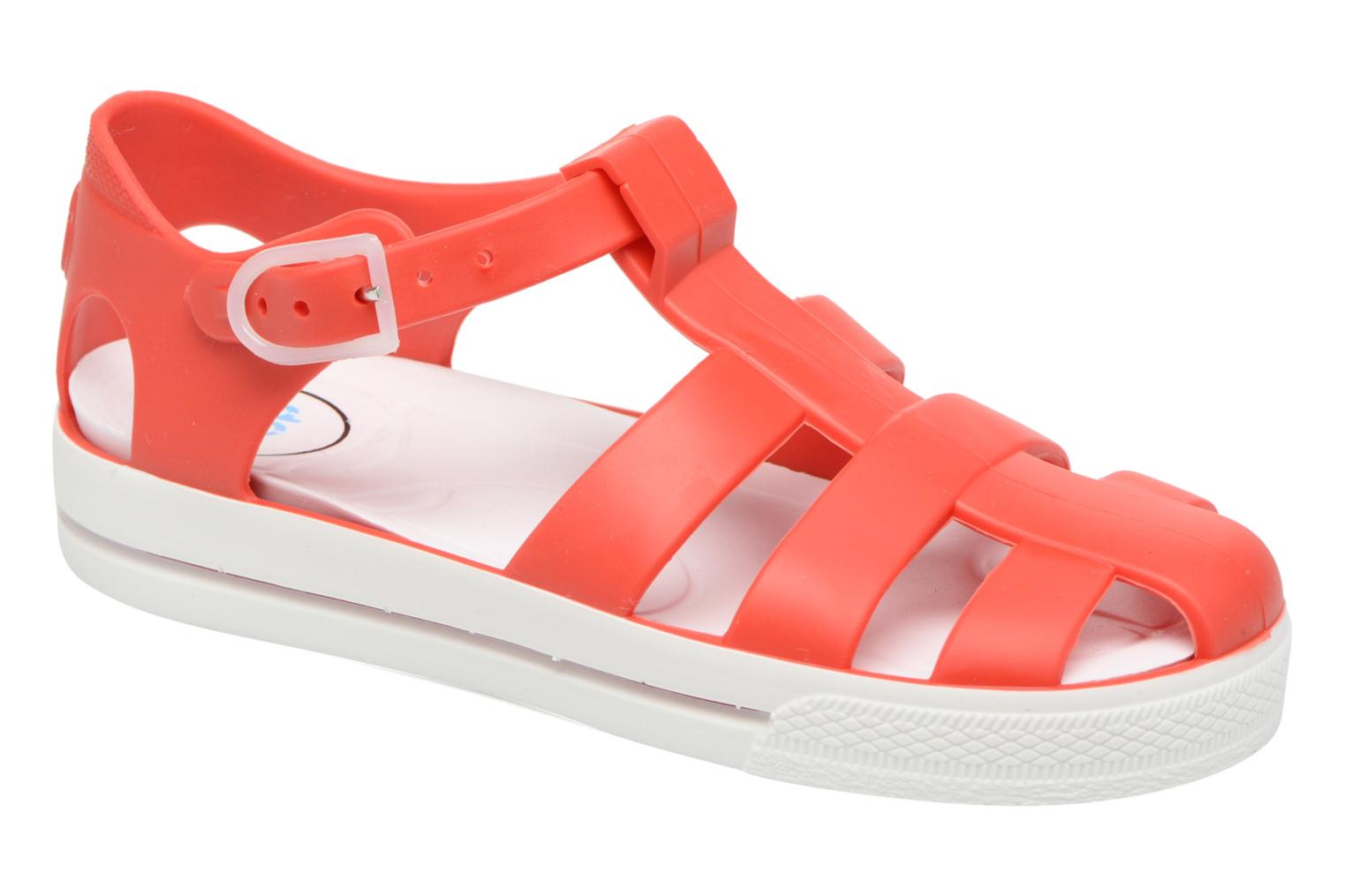 Sandals SARENZA POP Romy Red detailed view/ Pair view