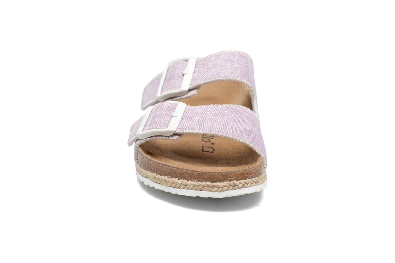 Clogs og træsko Papillio Arizona textile Pink se skoene på