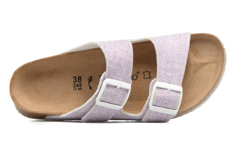 Clogs & Pantoletten Papillio Arizona textile rosa ansicht von links