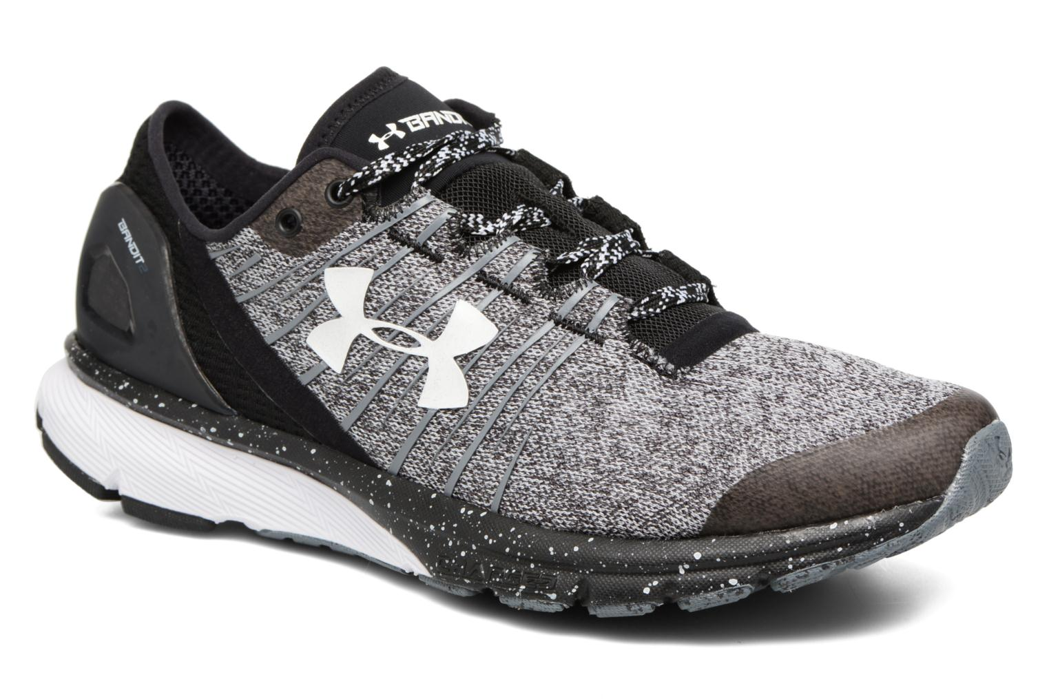 Sport shoes Under Armour Charged Bandit 2 W Black detailed view/ Pair view