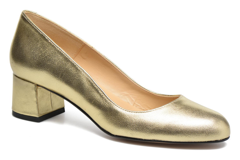 Slico cuir  métallisé doré