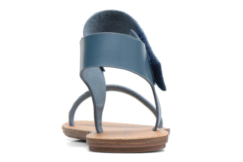 Sandales et nu-pieds Chattawak Louisiane Bleu vue droite