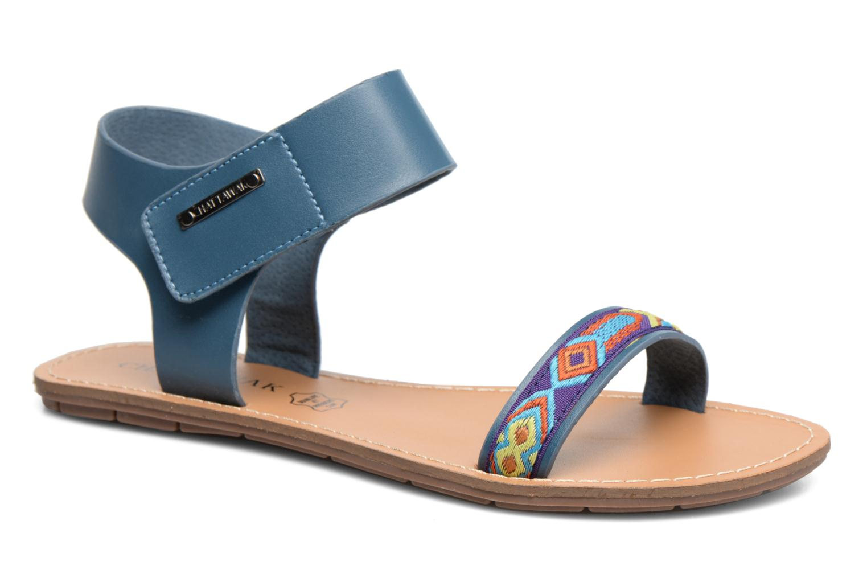 Sandales et nu-pieds Chattawak Louisiane Bleu vue détail/paire