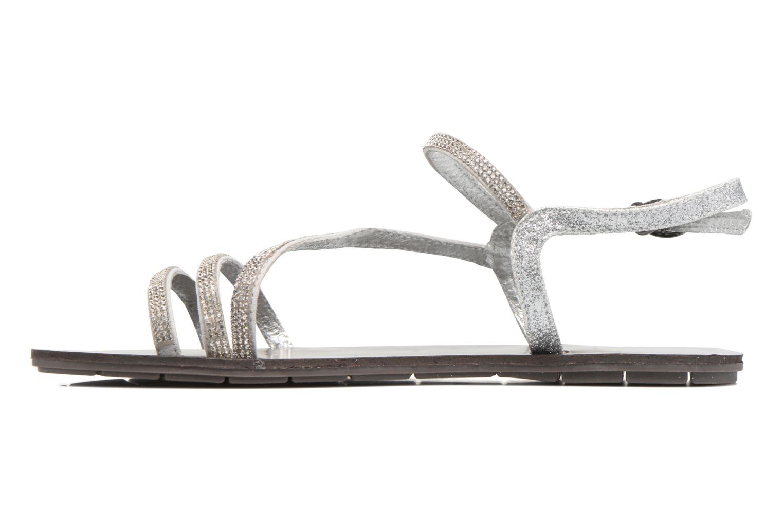 Sandales et nu-pieds Chattawak Nelly Argent vue face