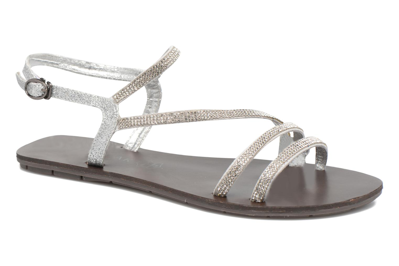Sandals Chattawak Nelly Silver detailed view/ Pair view