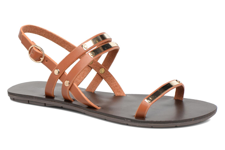 Sandaler Chattawak Lydie Brun detaljeret billede af skoene
