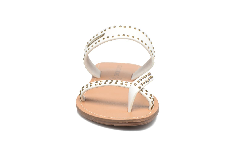 Sandalen Chattawak Pamela weiß schuhe getragen