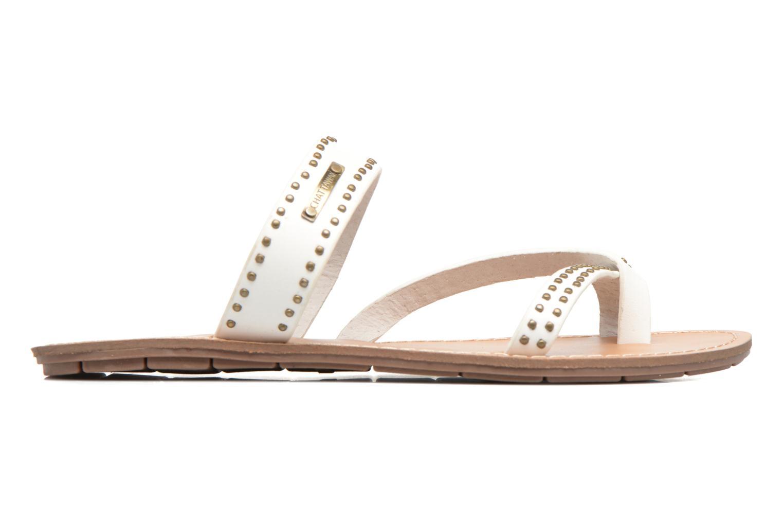 Sandales et nu-pieds Chattawak Pamela Blanc vue derrière
