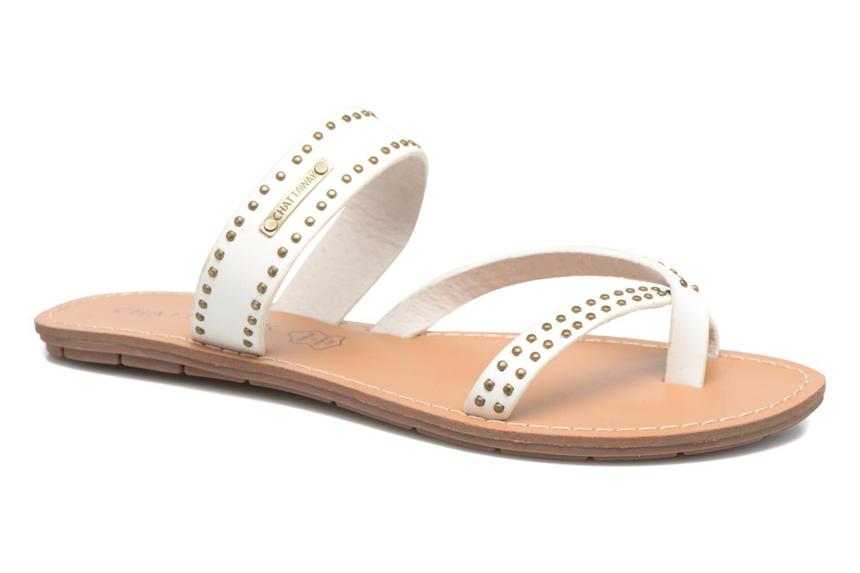 Sandales et nu-pieds Chattawak Pamela Blanc vue détail/paire