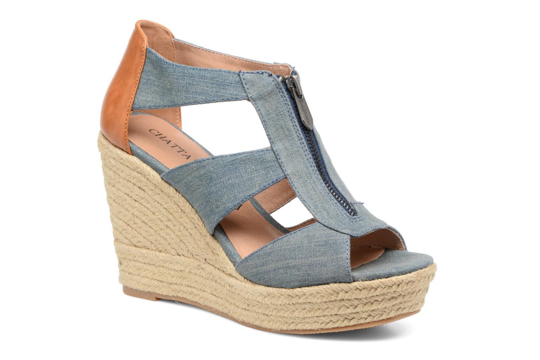 Sandales et nu-pieds Chattawak Debby Bleu vue détail/paire