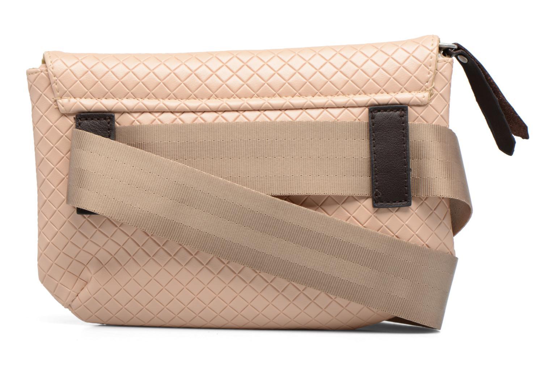 Sacs à main Bensimon Fancy Canvas line Belt bag Rose vue face