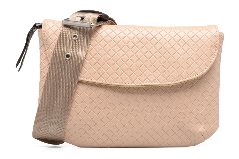 Handtassen Bensimon Fancy Canvas line Belt bag Roze detail