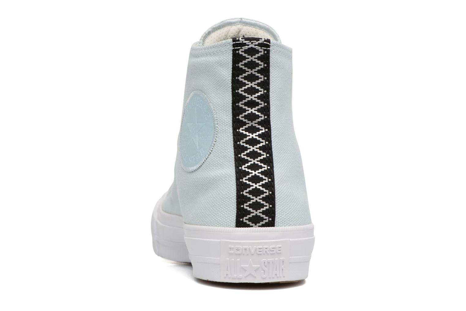 Trainers Converse Chuck Taylor All Star II Hi Shield Lycra W Blue view from the right