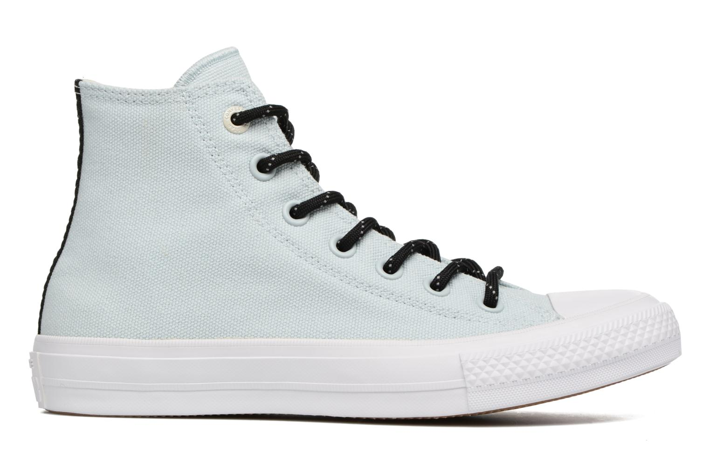 Sneaker Converse Chuck Taylor All Star II Hi Shield Lycra W blau ansicht von hinten