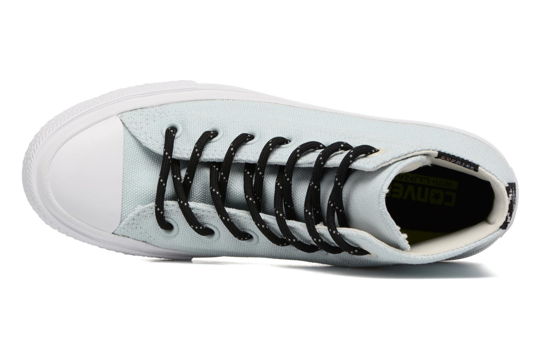 Sneakers Converse Chuck Taylor All Star II Hi Shield Lycra W Azzurro immagine sinistra