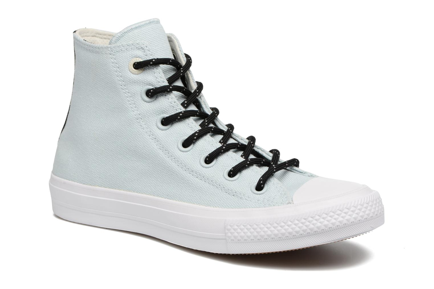 Trainers Converse Chuck Taylor All Star II Hi Shield Lycra W Blue detailed view/ Pair view