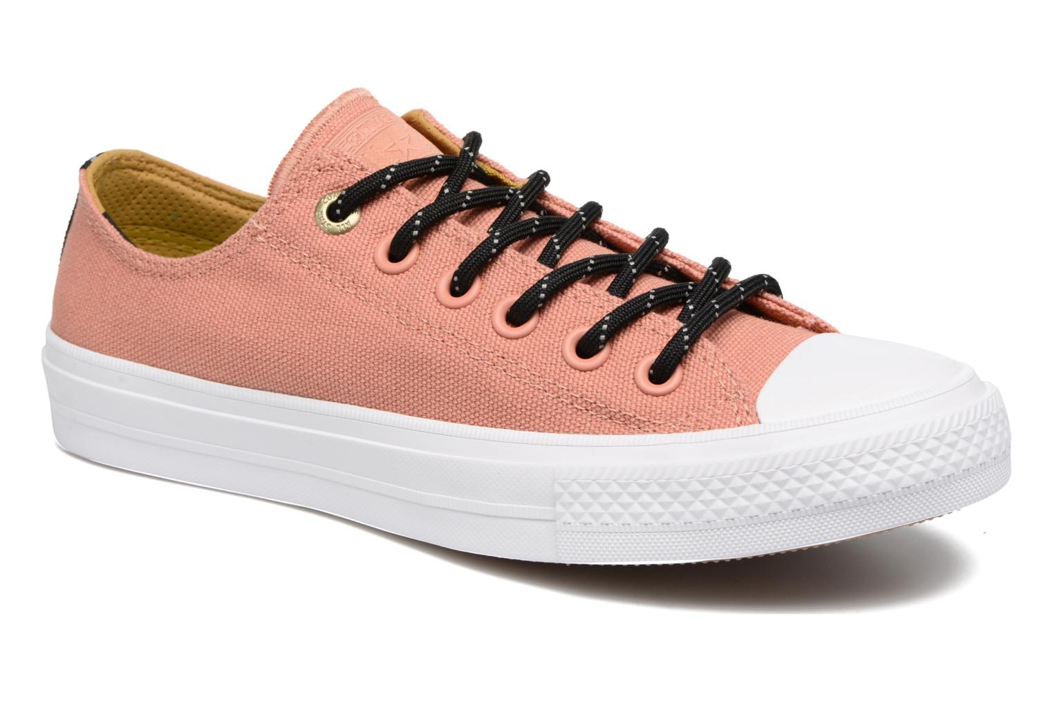 Chuck Taylor All Star II Ox Shield Lycra W Pink Blush/White/Relic Gold