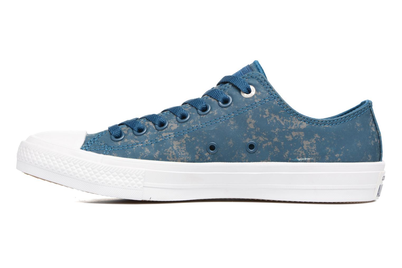 Sneaker Converse Chuck Taylor All Star II Ox Reflective Wash M blau ansicht von vorne