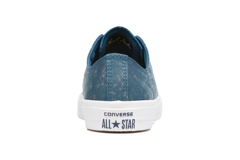 Sneaker Converse Chuck Taylor All Star II Ox Reflective Wash M blau ansicht von rechts