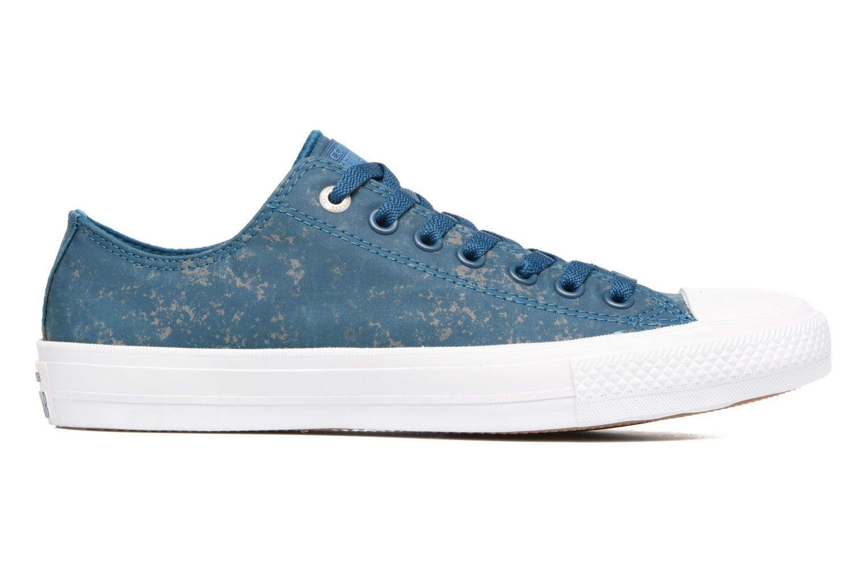 Sneaker Converse Chuck Taylor All Star II Ox Reflective Wash M blau ansicht von hinten