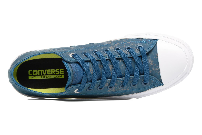 Sneaker Converse Chuck Taylor All Star II Ox Reflective Wash M blau ansicht von links