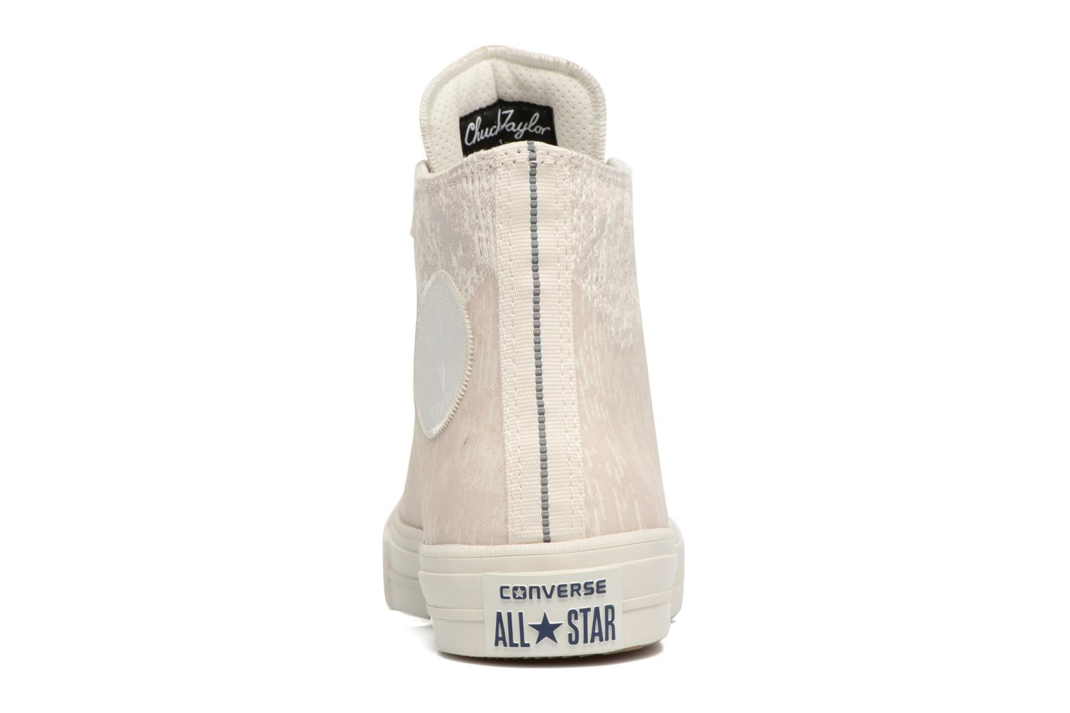 Sneakers Converse Chuck Taylor All Star II Rubber Hi W Beige immagine destra