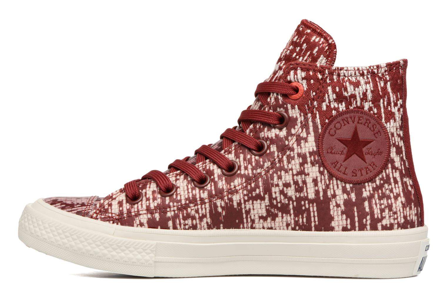 Baskets Converse Chuck Taylor All Star II Rubber Hi W Rouge vue face
