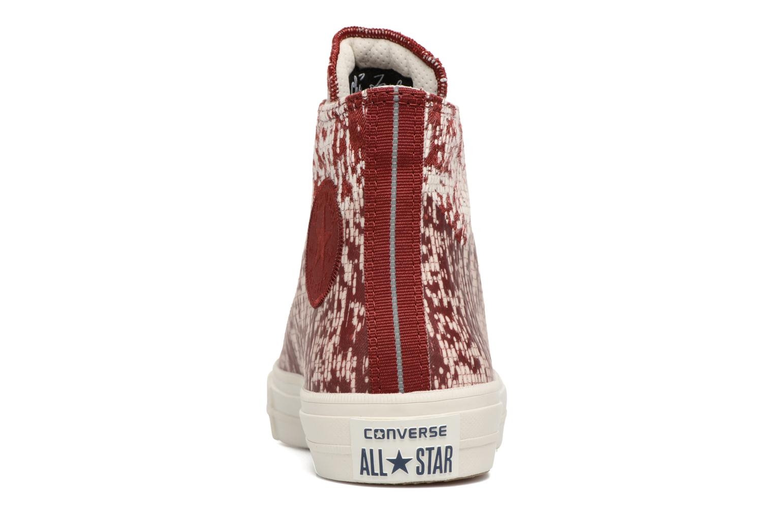 Baskets Converse Chuck Taylor All Star II Rubber Hi W Rouge vue droite