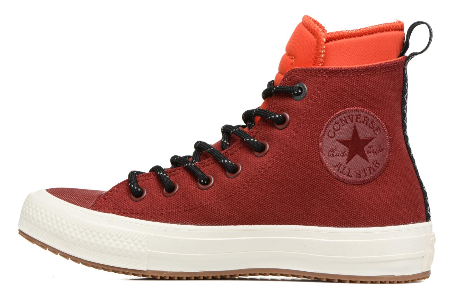 Baskets Converse Chuck Taylor All Star II Hi Shield Canvas Boot W Rouge vue face
