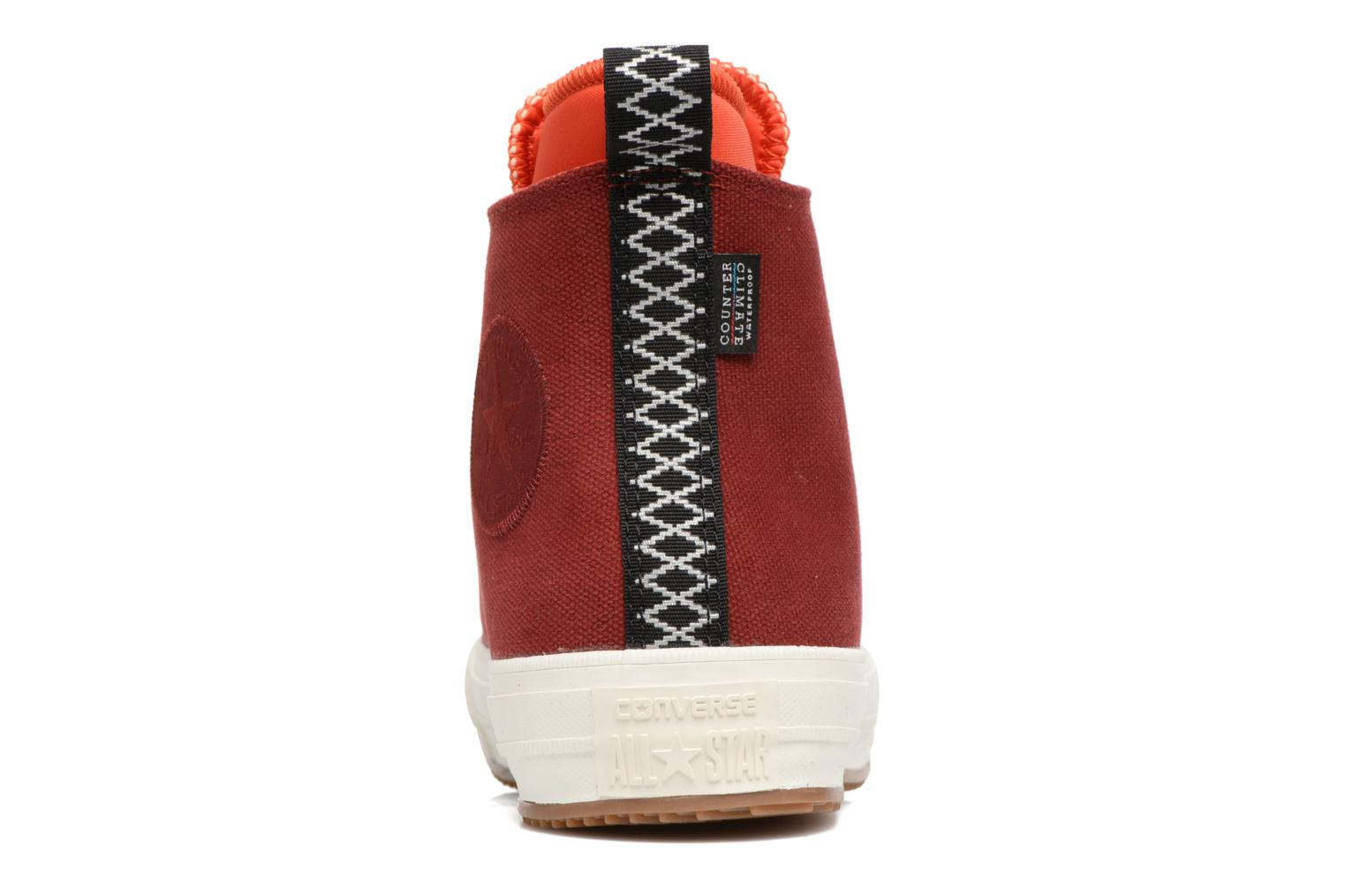 Baskets Converse Chuck Taylor All Star II Hi Shield Canvas Boot W Rouge vue droite