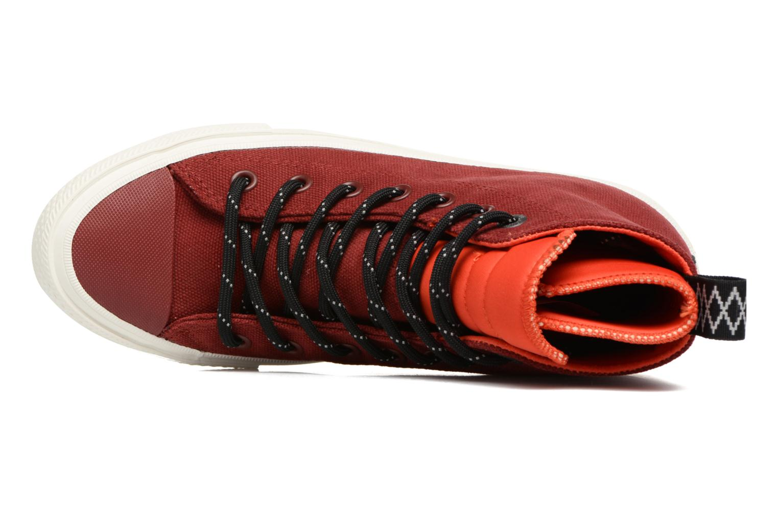 Sneakers Converse Chuck Taylor All Star II Hi Shield Canvas Boot W Rosso immagine sinistra
