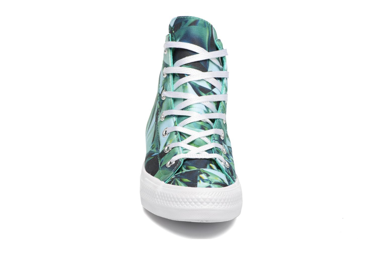 Chuck Taylor All Star Gemma Hi Graphic Emerald/Mouse/White