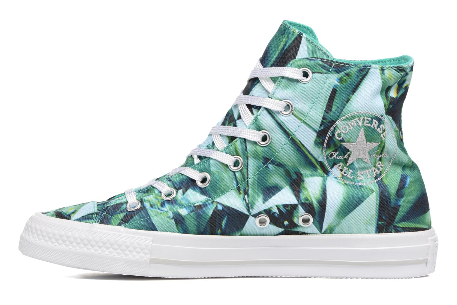Chuck Taylor All Star Gemma Hi Graphic Emerald/Mouse/White