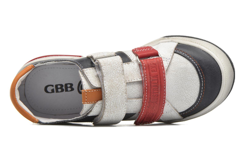 Baskets GBB Malcom Multicolore vue gauche