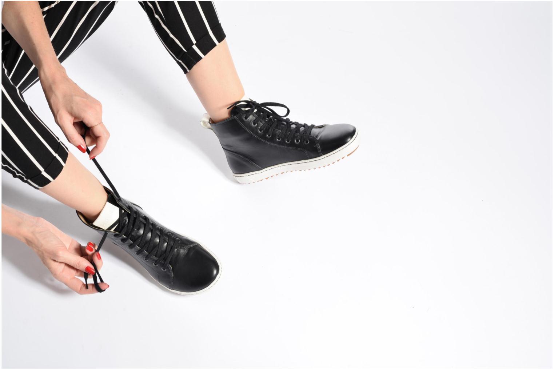 Chaussures à lacets Birkenstock Bartlett W Noir vue bas / vue portée sac