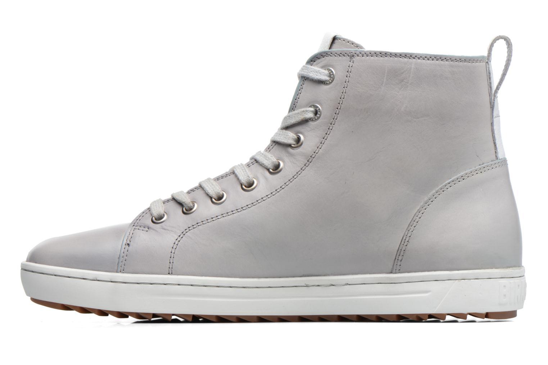 Sneaker Birkenstock Bartlett grau ansicht von vorne