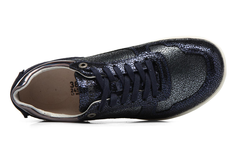 Sneaker Birkenstock Cincinnati blau ansicht von links